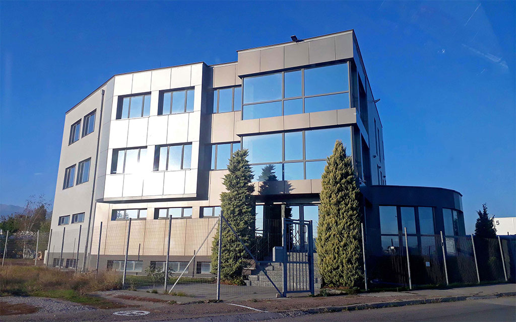 сградата на компания Унифарма в град София