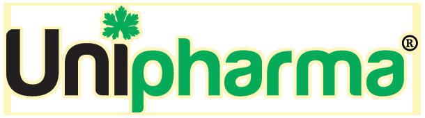 Унифарма официално лого с подсветка