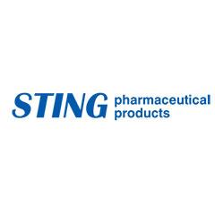 STING pharmaceutical products лого - партньор на Unipharma