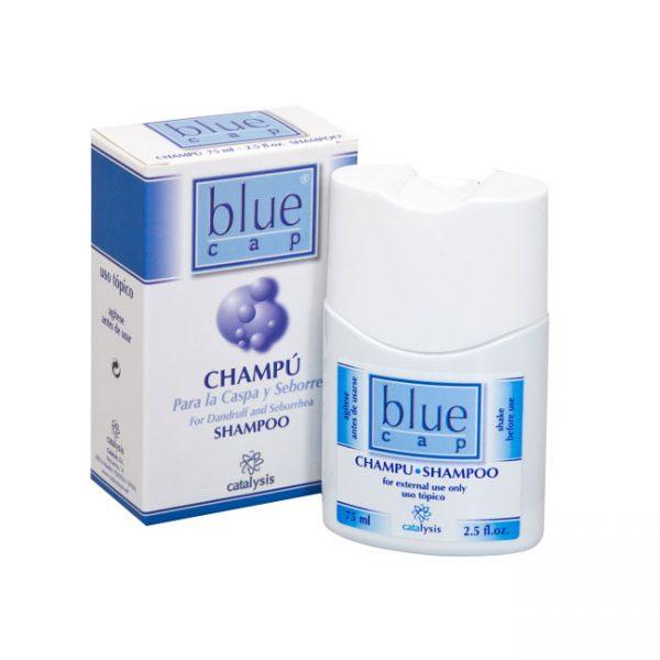 BLUE CAP SHAMPOO - шампоан и кутия - продукт от Унифарма