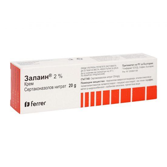 Залаин крем - кутия - продукт от Унифарма